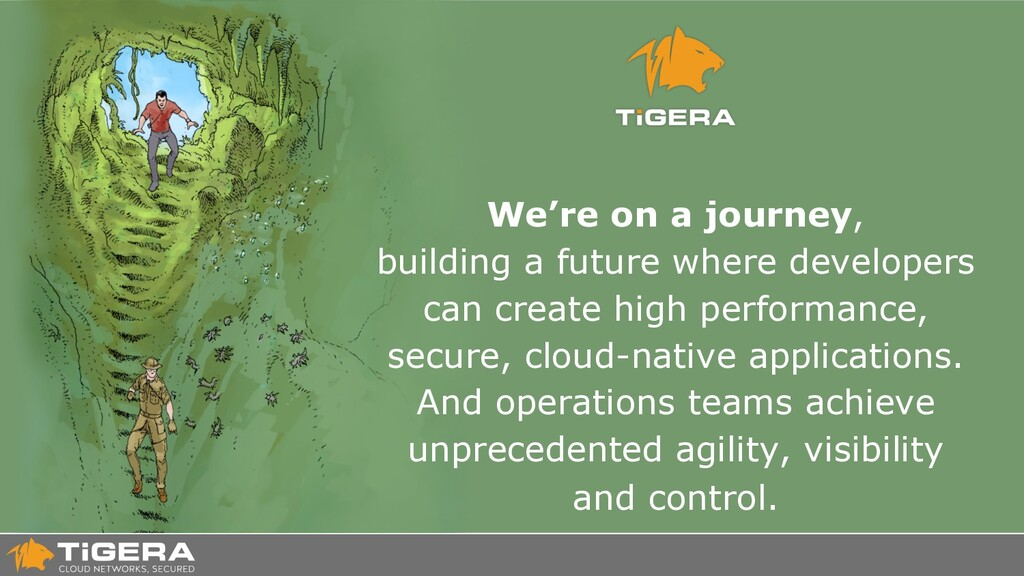 We're on a journey, building a future where dev...
