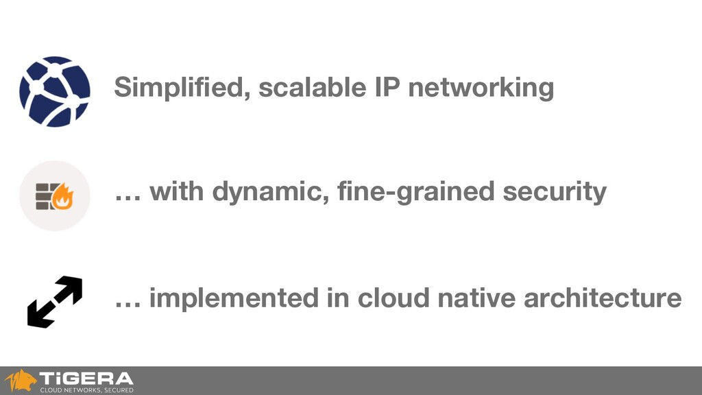 Simplified, scalable IP networking … implemente...