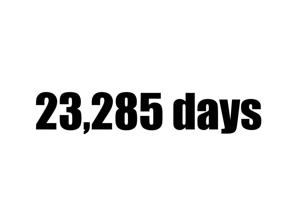 23,285 days