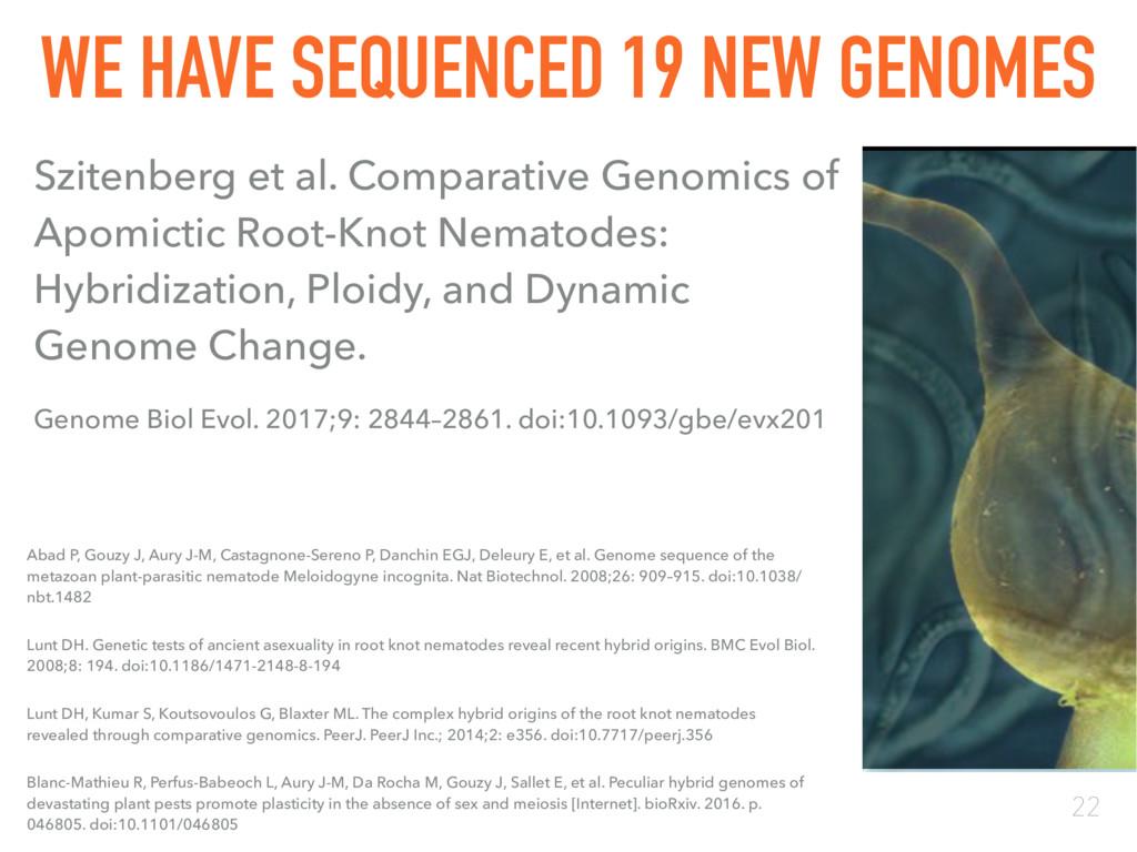 22 Szitenberg et al. Comparative Genomics of Ap...