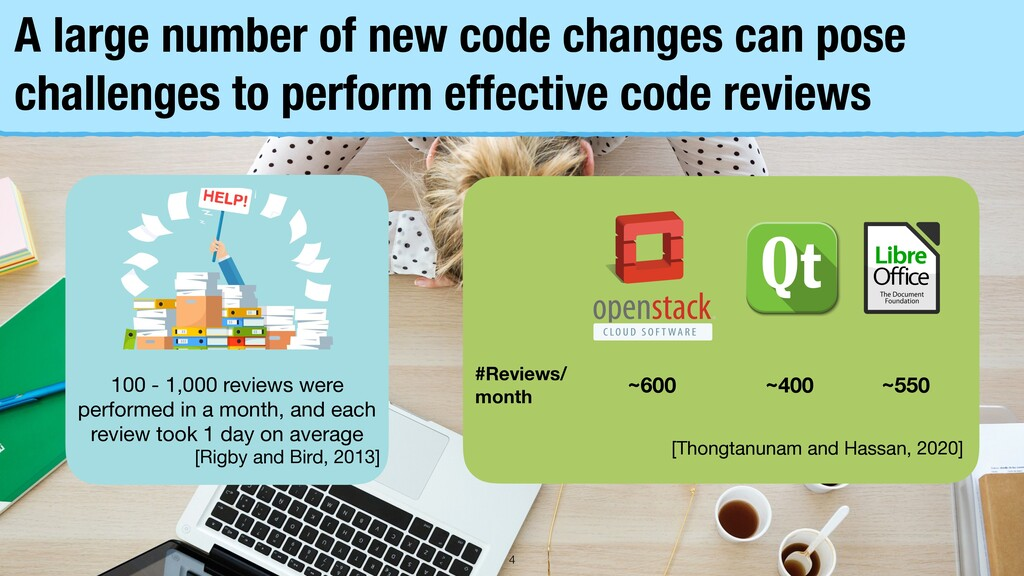 A large number of new code changes can pose cha...