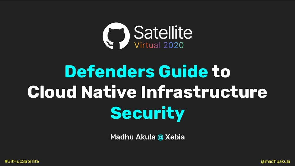 Defenders Guide to Cloud Native Infrastructure ...