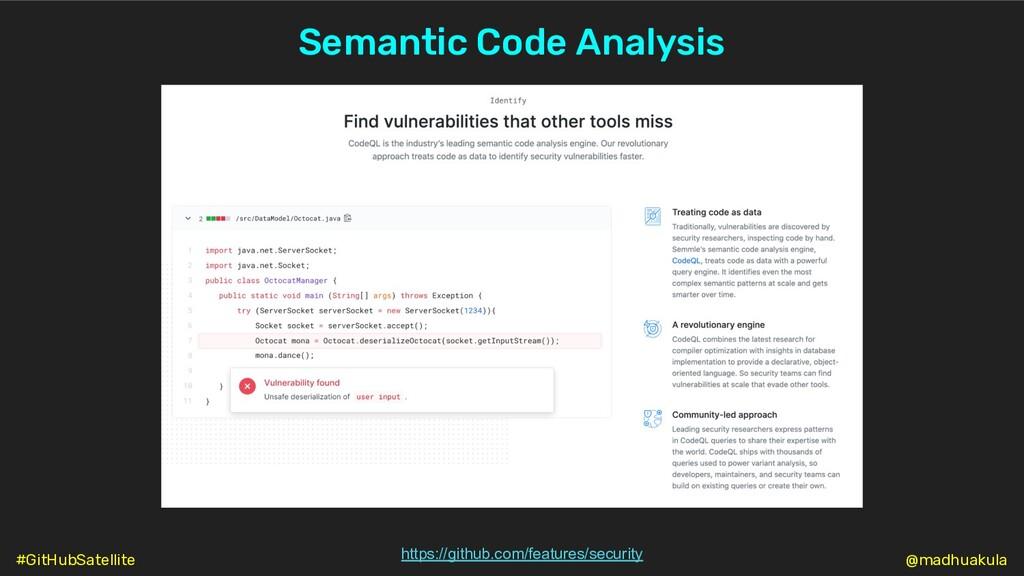 Semantic Code Analysis https://github.com/featu...