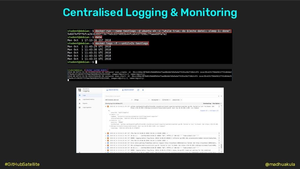 Centralised Logging & Monitoring @madhuakula #G...