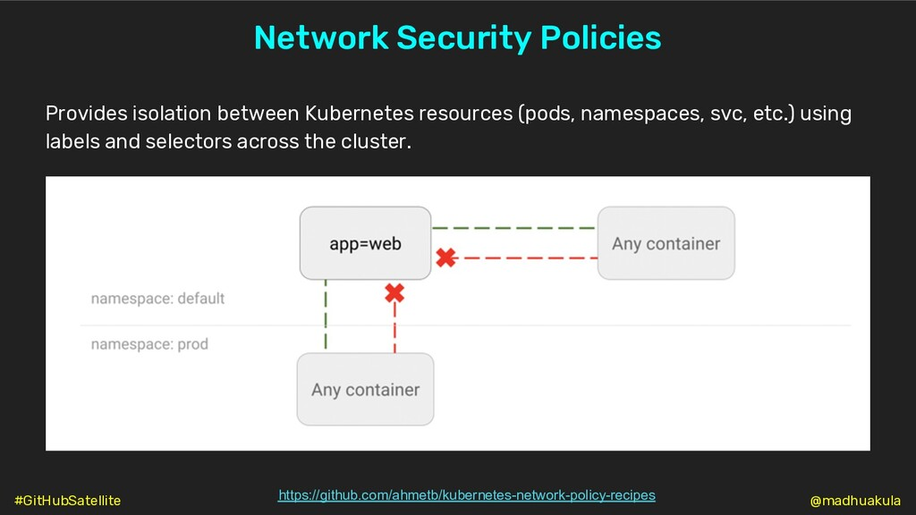 Network Security Policies https://github.com/ah...