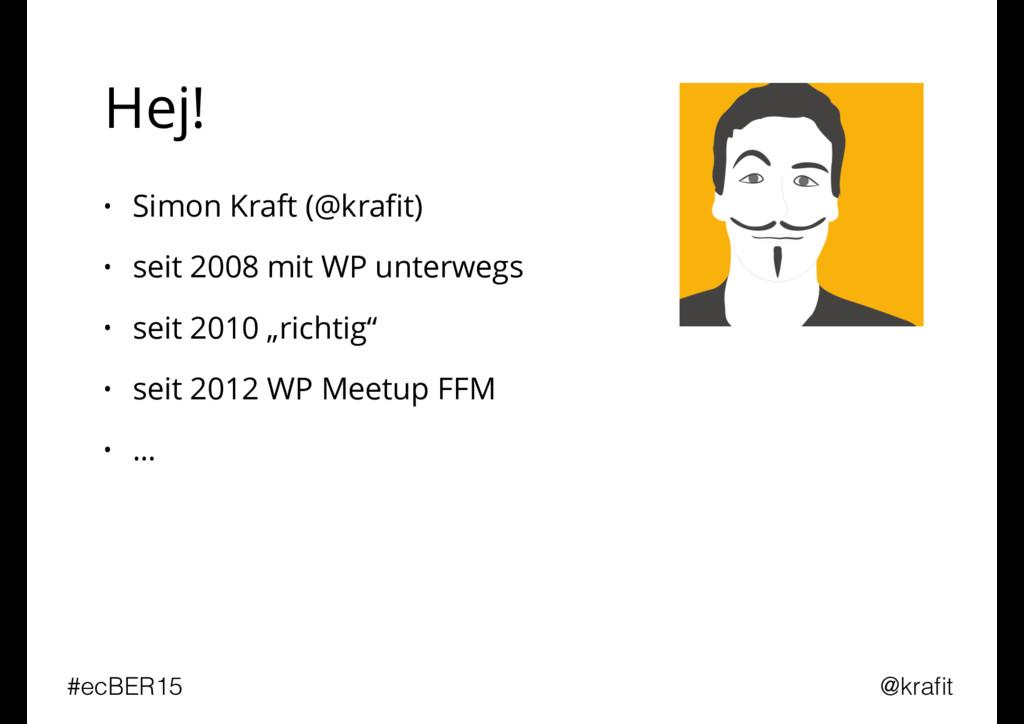 Hej! • Simon Kraft (@krafit) • seit 2008 mit WP ...