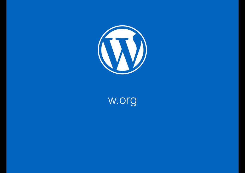 w.org