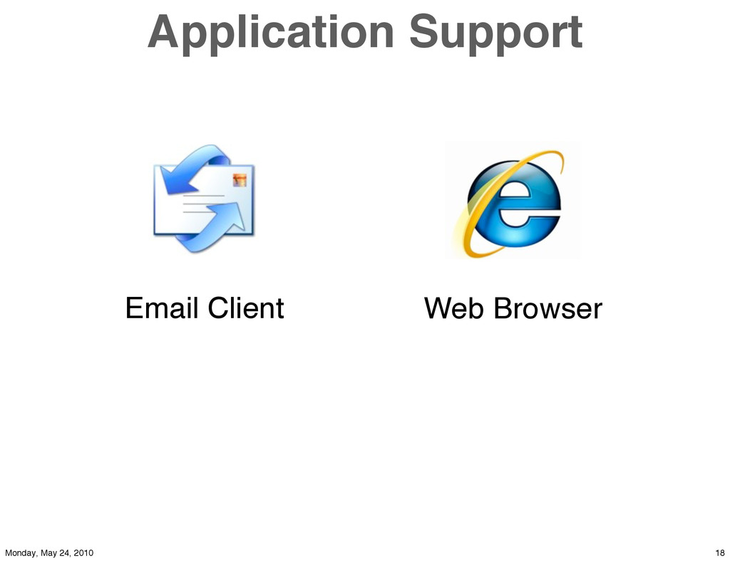Application Support Email Client Web Browser 18...