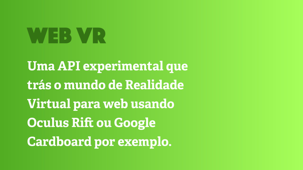 Uma API experimental que trás o mundo de Realid...