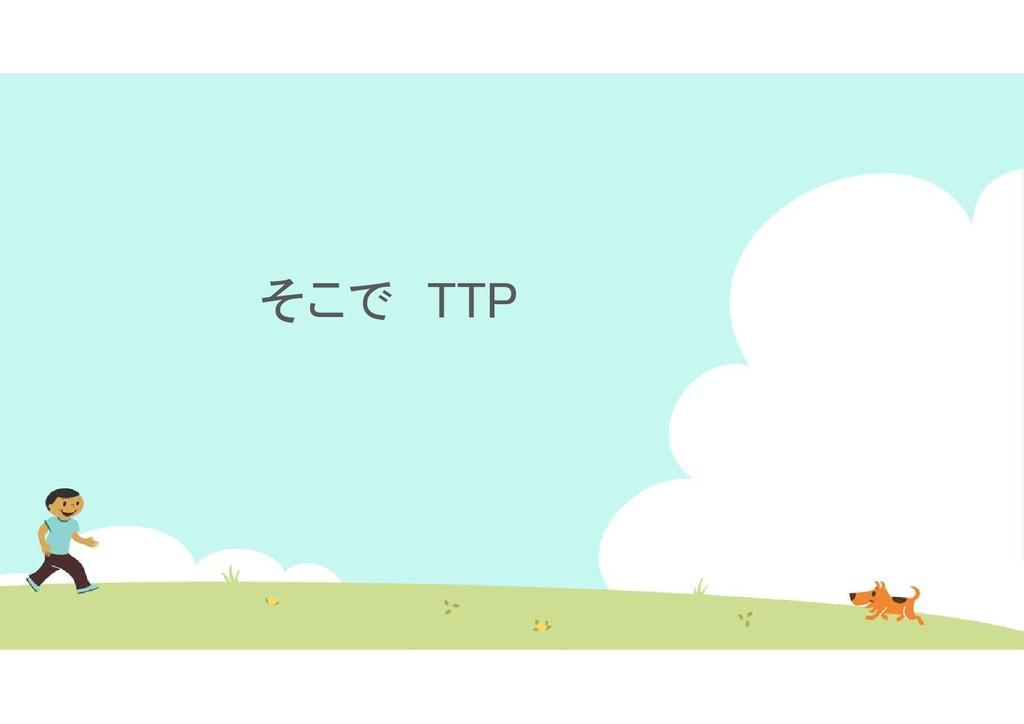 そこで TTP