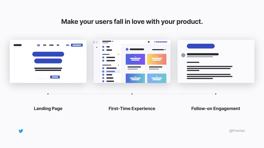 Make your users fall in love with your product....