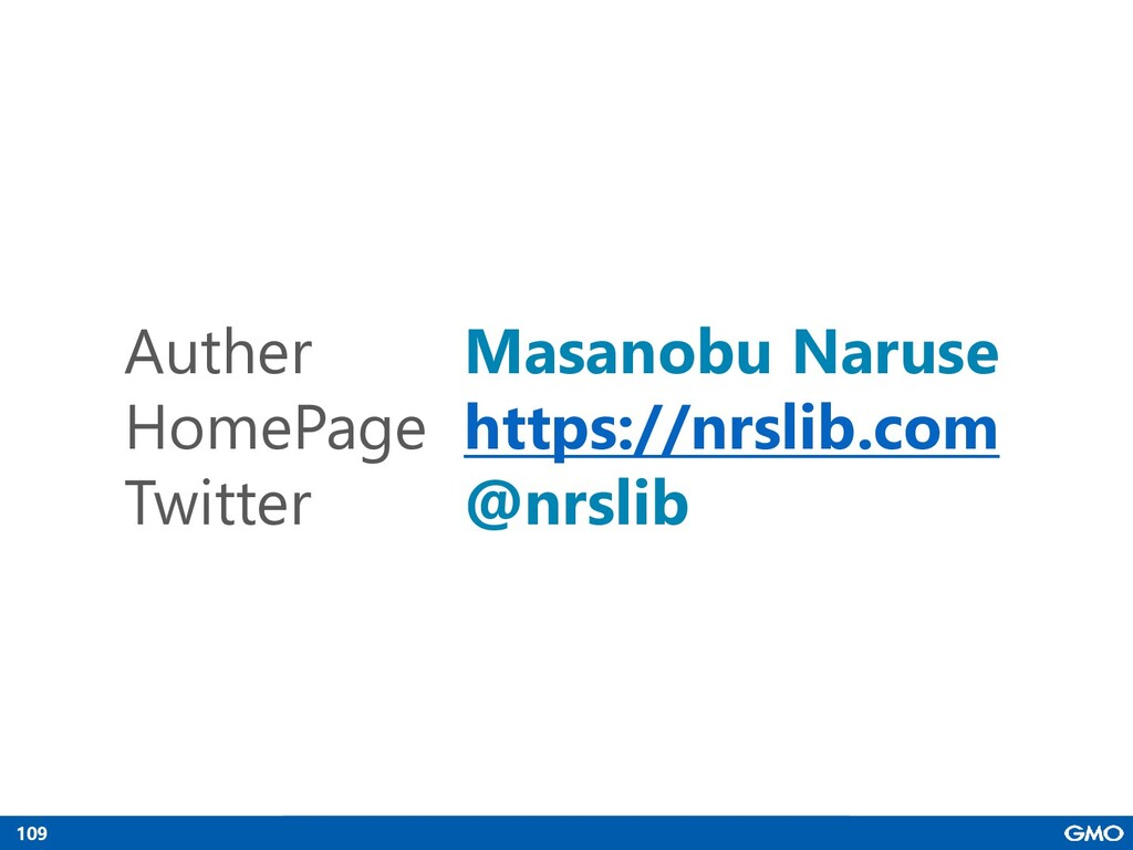 109 Auther Masanobu Naruse HomePage https://nrs...