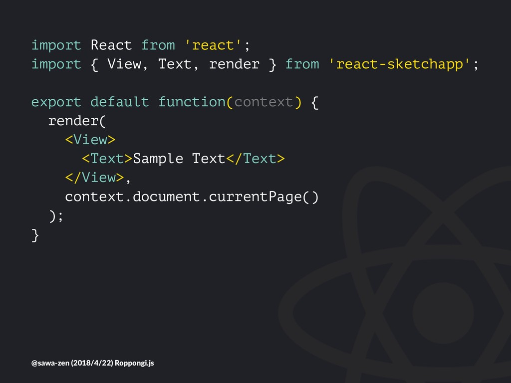 import React from 'react'; import { View, Text,...