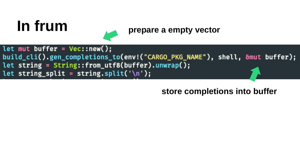 In frum ⬅︎ prepare a empty vector store complet...