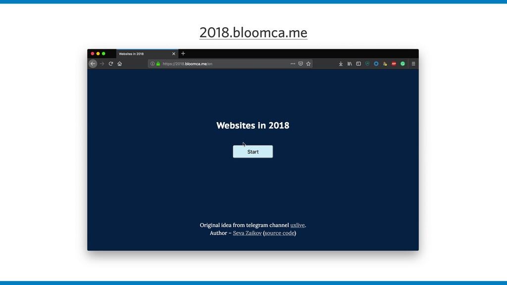 2018.bloomca.me