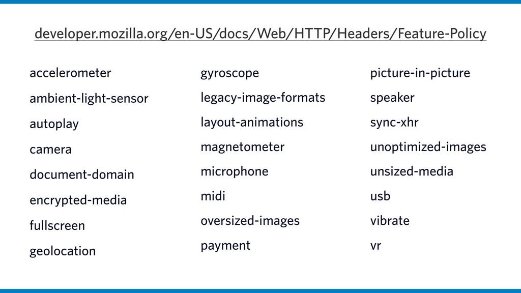 accelerometer ambient-light-sensor autoplay cam...