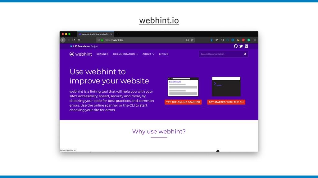 webhint.io