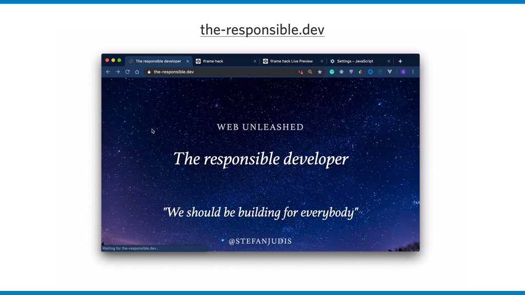 the-responsible.dev