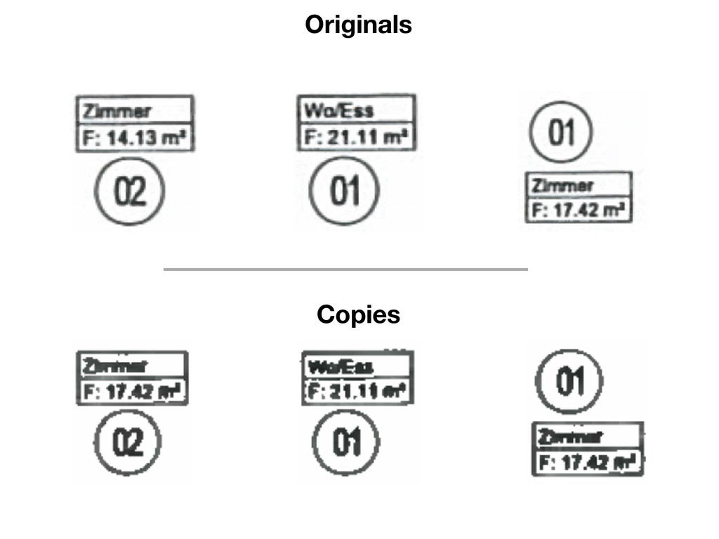 Originals Copies