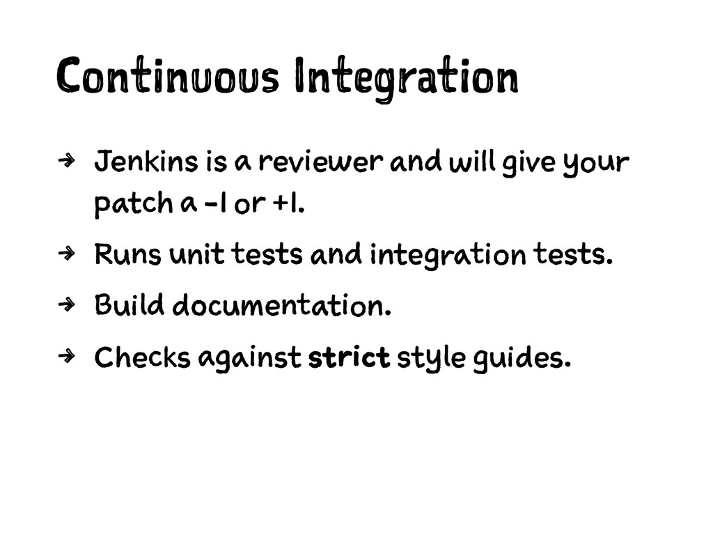Continuous Integration 4 Jenkins is a reviewer ...