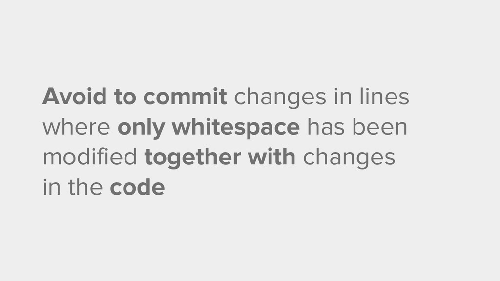 Avoid to commit changes in lines where only whi...