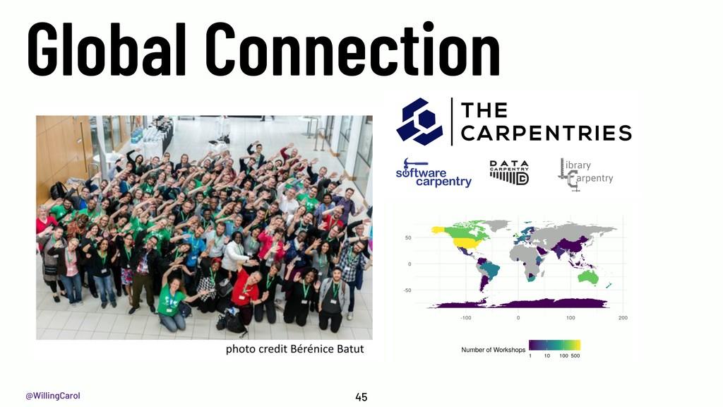 @WillingCarol Global Connection 45