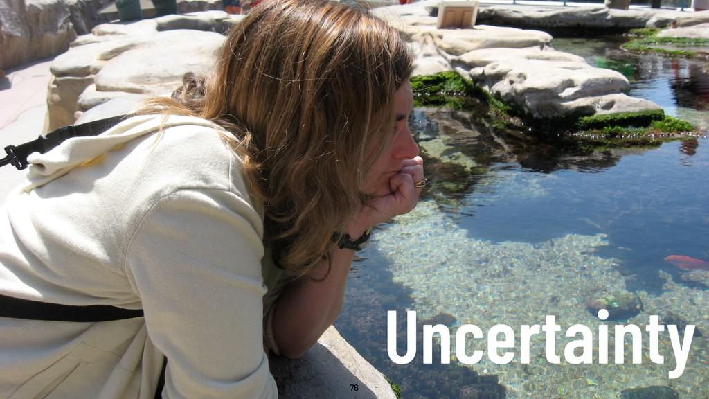 @WillingCarol 76 Uncertainty