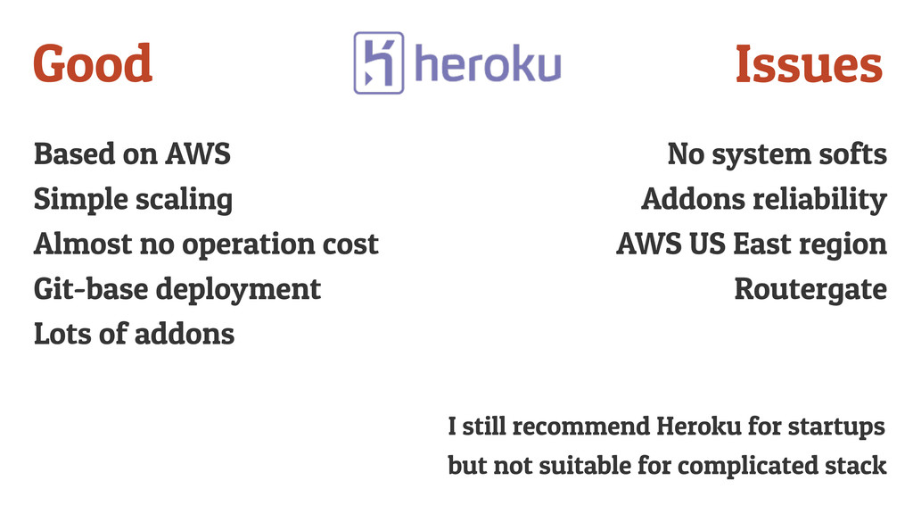 Based on AWS Simple scaling Almost no operation...