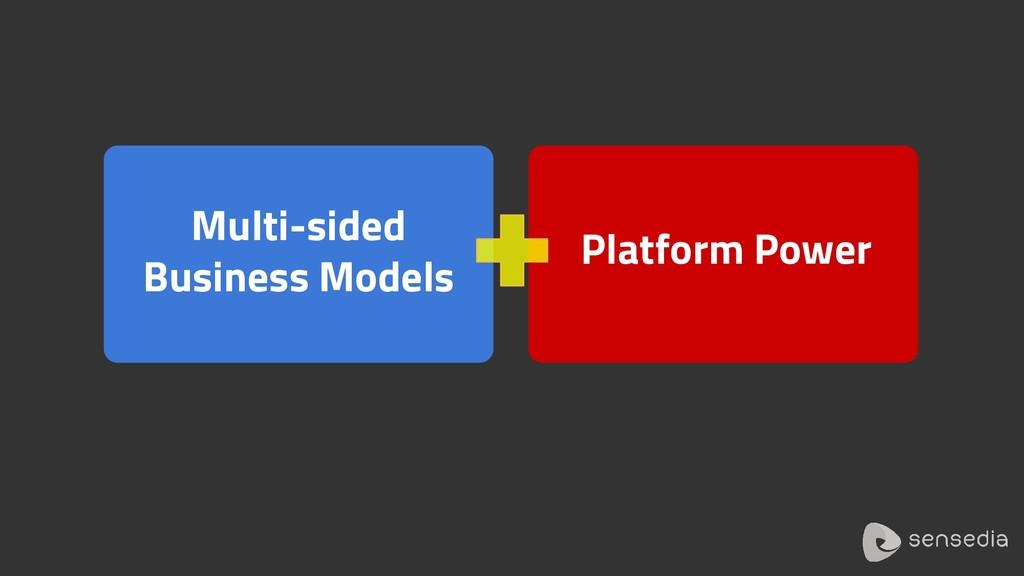 Multi-sided Business Models Platform Power