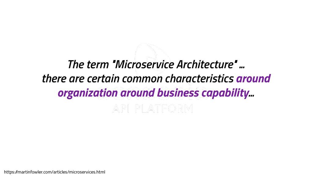 """sensedia.com The term """"Microservice Architectur..."""