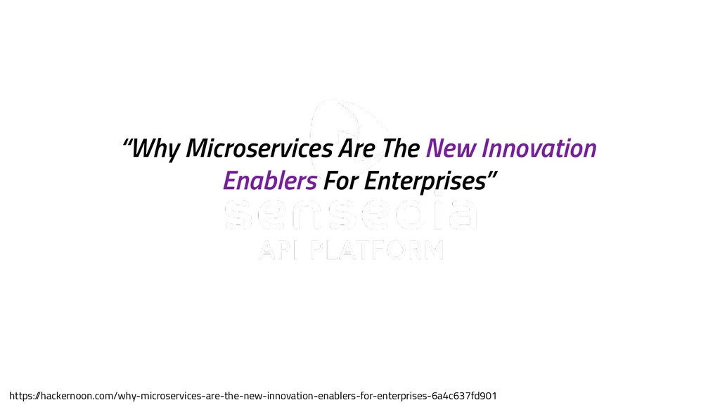 """sensedia.com """"Why Microservices Are The New Inn..."""
