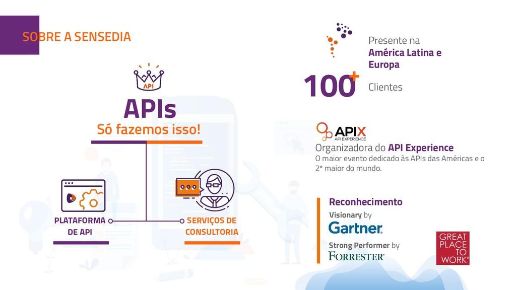 APIs Reconhecimento Visionary by Só fazemos iss...