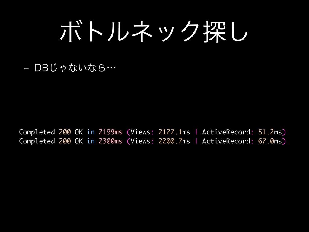 ϘτϧωοΫ୳͠  %#͡Όͳ͍ͳΒʜ Completed 200 OK in 2199ms...