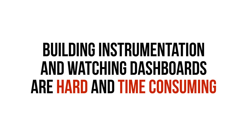 Building instrumentation and watching dashboard...