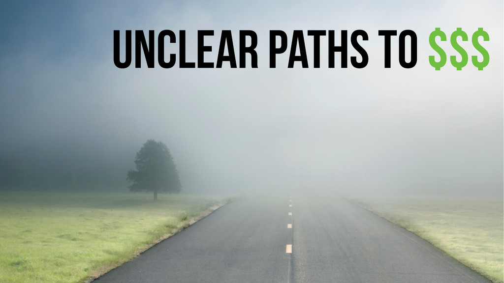 unclear paths to $$$