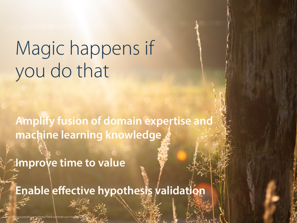 Magic happens if you do that Amplify fusion of ...
