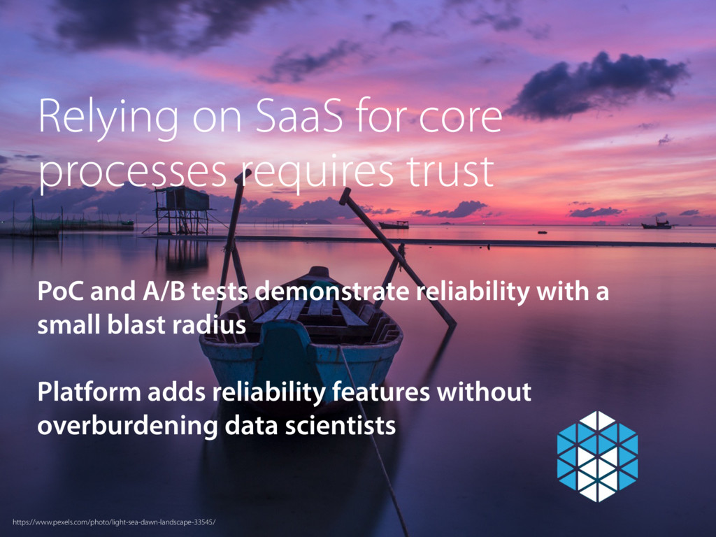 Relying on SaaS for core processes requires tru...