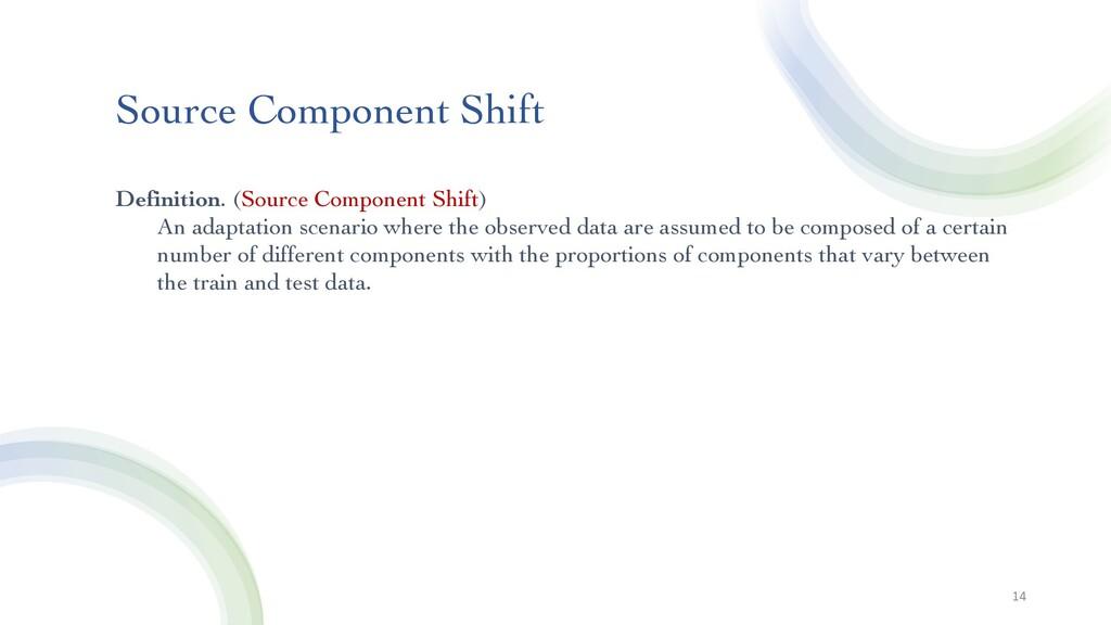 Source Component Shift 14 Definition. (Source C...
