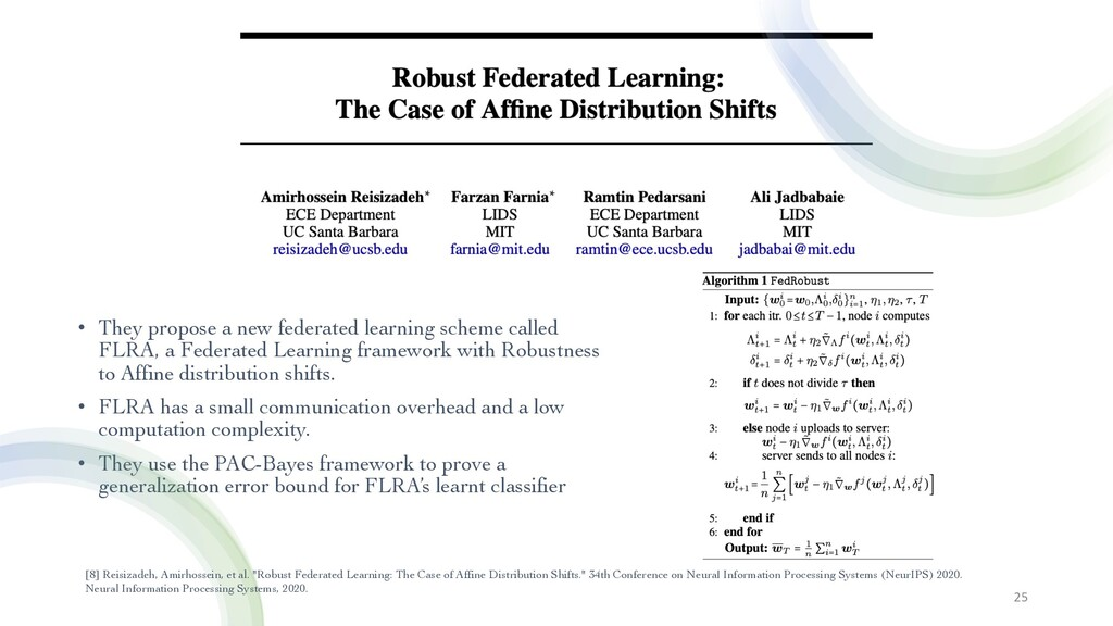 • They propose a new federated learning scheme ...