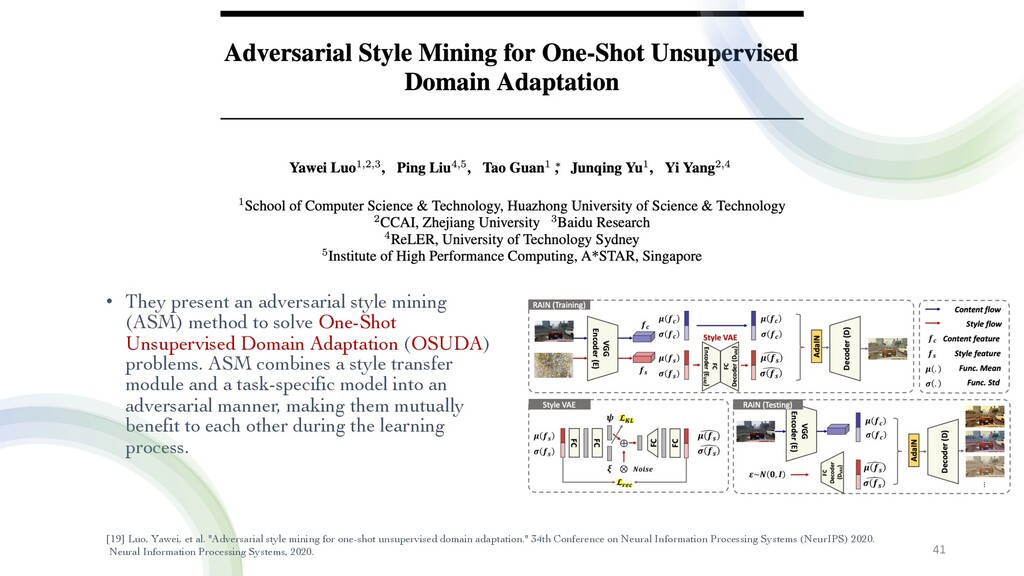 • They present an adversarial style mining (ASM...