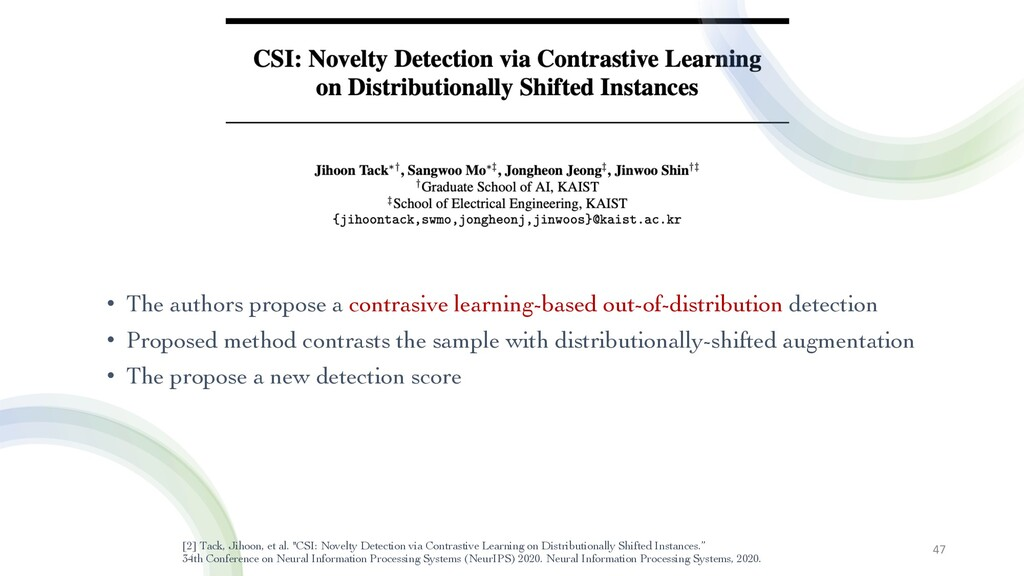 • The authors propose a contrasive learning-bas...