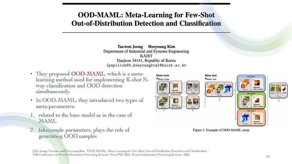• They proposed OOD-MAML, which is a meta- lear...