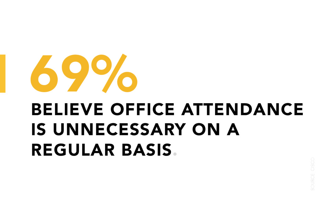 BELIEVE OFFICE ATTENDANCE IS UNNECESSARY ON A R...