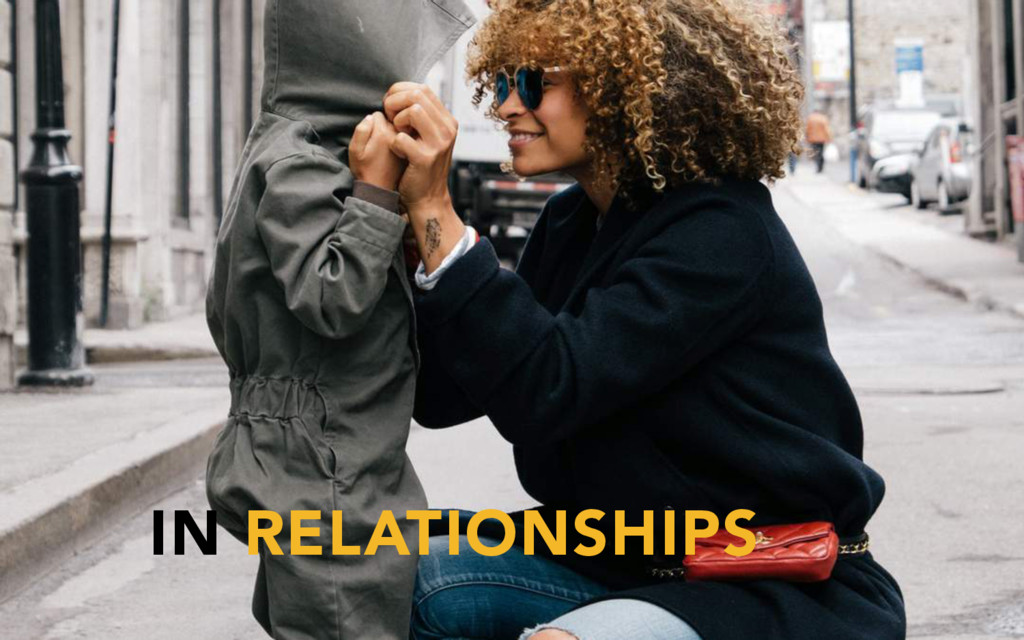 IN RELATIONSHIPS