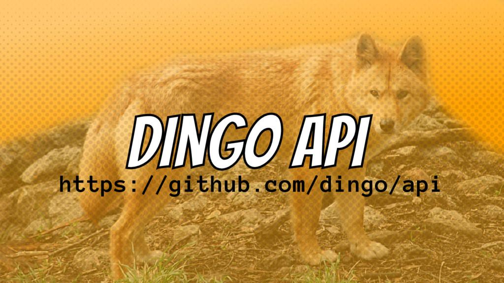 https://github.com/dingo/api
