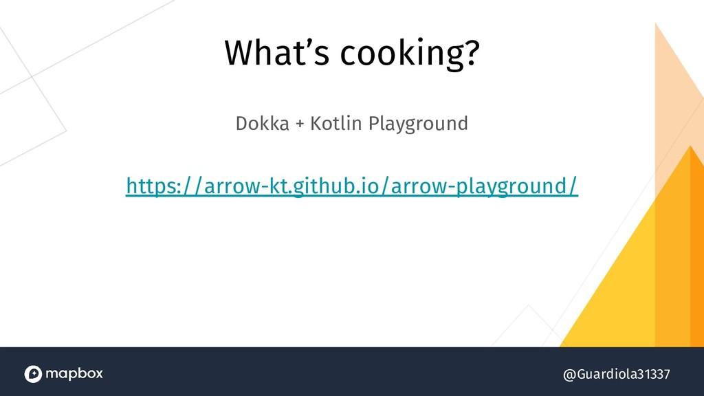 @Guardiola31337 What's cooking? Dokka + Kotlin ...