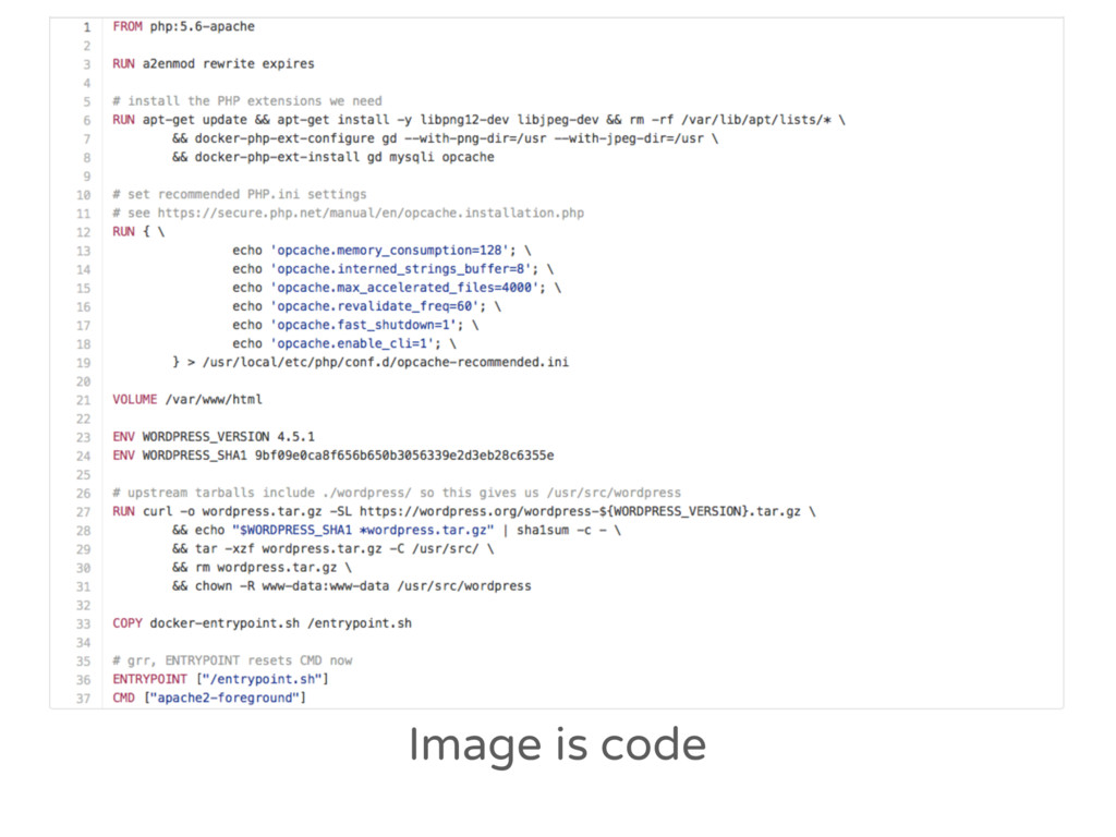 Image is code
