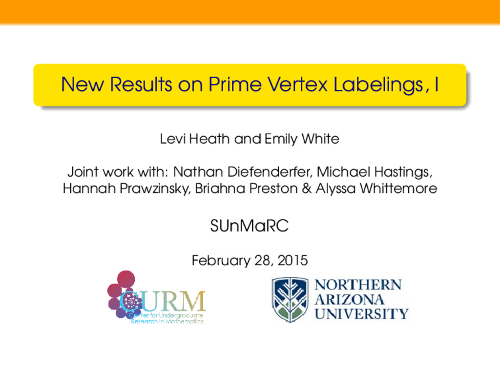 New Results on Prime Vertex Labelings, I Levi H...