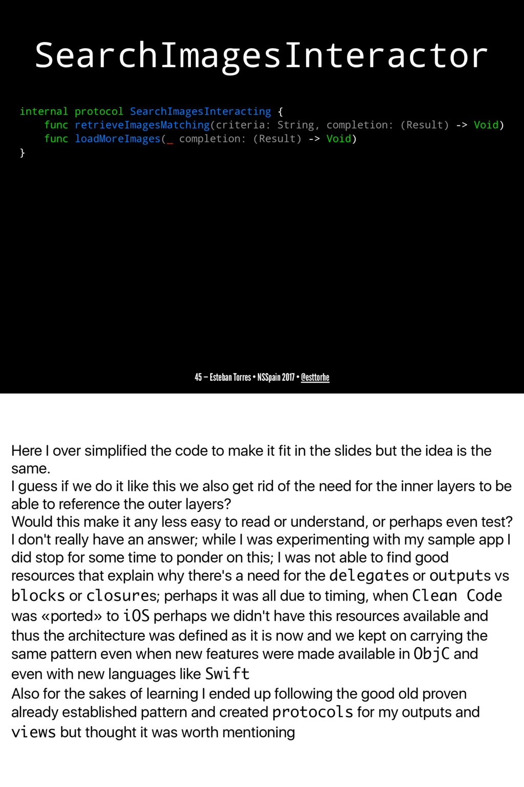 Here I over simplified the code to make it fit ...