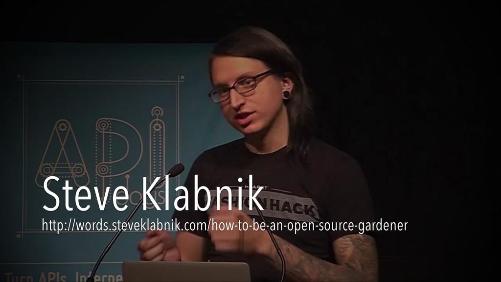 Steve Klabnik http://words.steveklabnik.com/how...